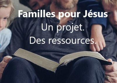 Projet familles pour Jésus – le culte familial